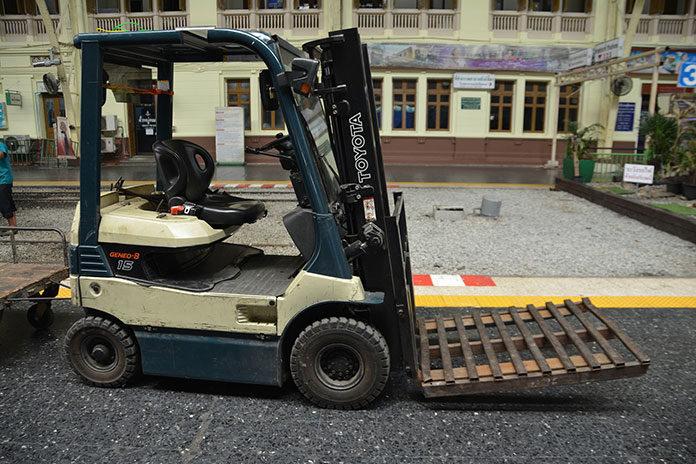 Bezpieczne wózki widłowe